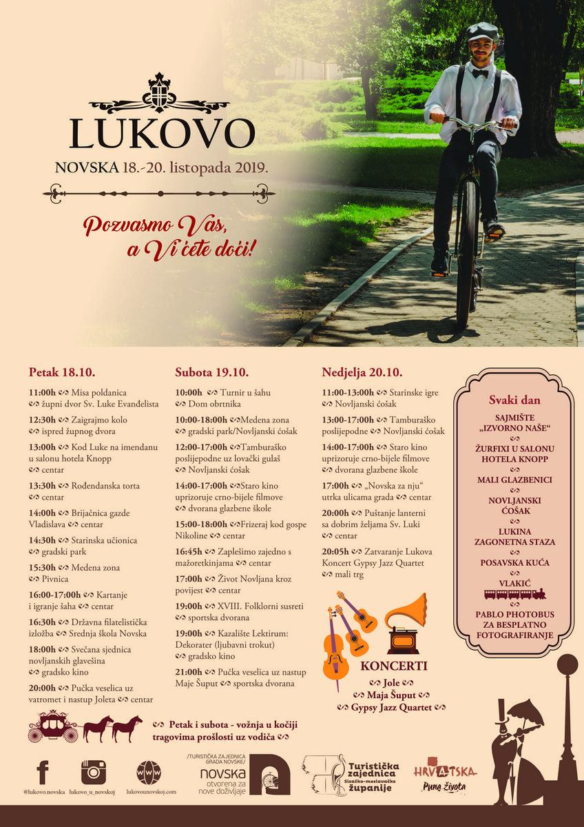 Plakat Lukovo 2019